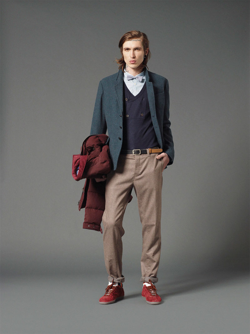 *Mauro Grifoni 和她的男人M.Grifoni Denim :Fall/Winter 2012-13 3