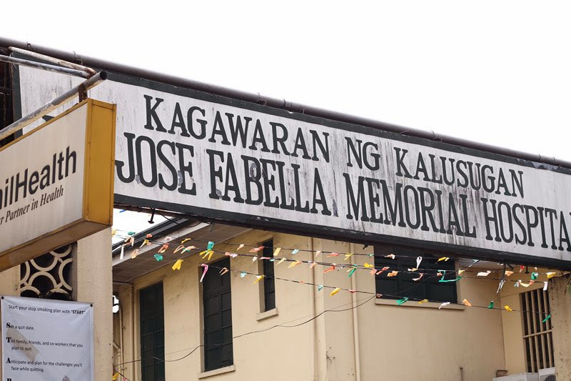 Jose Fabella Memorial Hospital Entrance