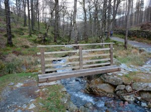 Bridge near Castle Crag path