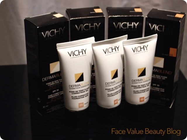vichy dermablend corrector makeup blogger launch review