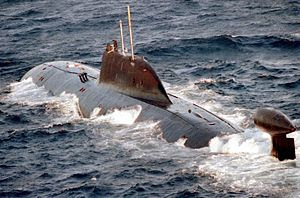 A Russian Akula-Class Submarine
