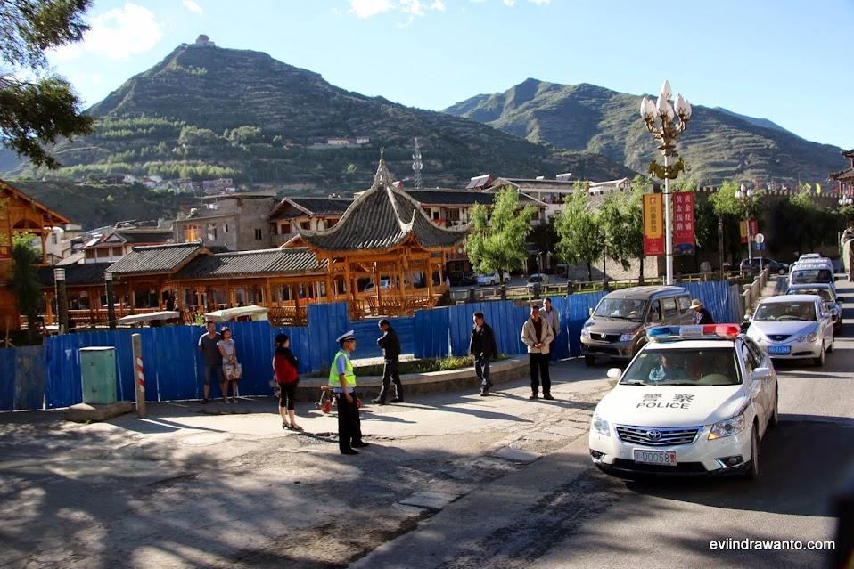 sampai di kota songpan - perjalanan menakjubkan chengdu-jiuzhaigou