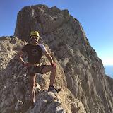 Carrera y escalada por Bernia (24-Enero-2015)