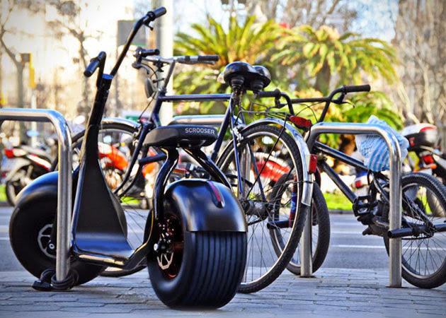 *都會小型電動滑步車:領你穿梭自如在小巷弄之中! 3