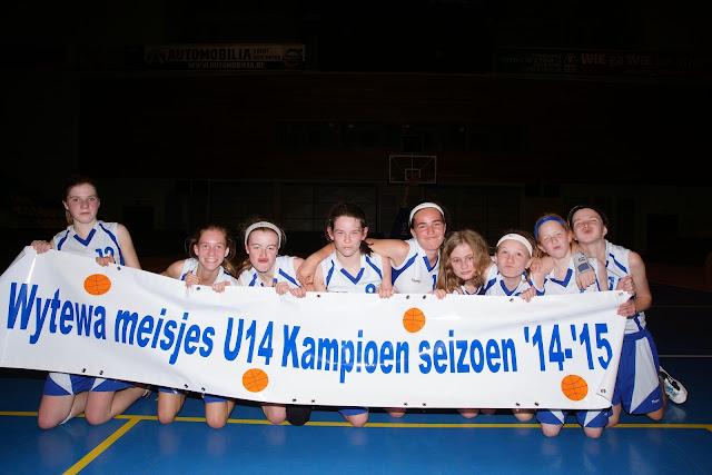 kampioenenploeg U14 wytewa