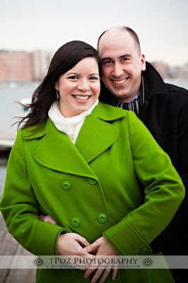 Baltimore Engagement Photography at Tide Point