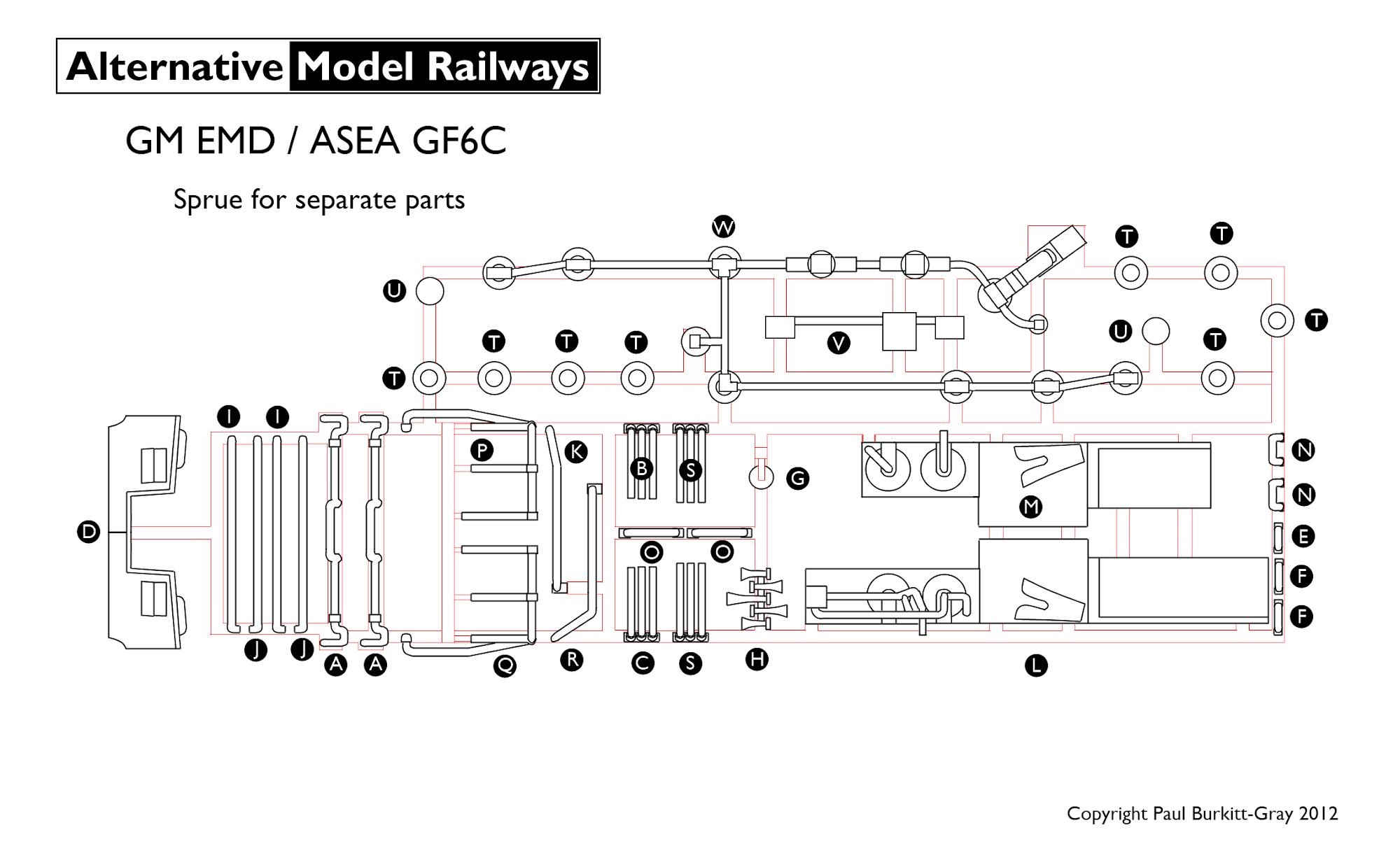 Ngf6c2 N Scale British Columbia Railway Gf6c 7zd7j2q2v
