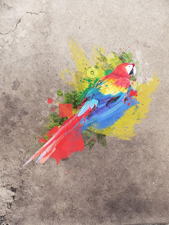Foto manipulação artística com tema natureza - tutorial finalizado