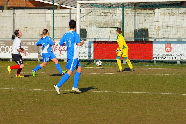 doelpunt Lisa Lefere