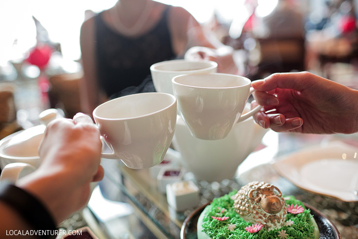 Mandarin Oriental Afternoon Tea Las Vegas.