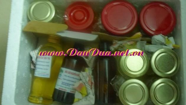 Tinh dầu dừa nguyên chất Bến tre và hoạt động 12-2013