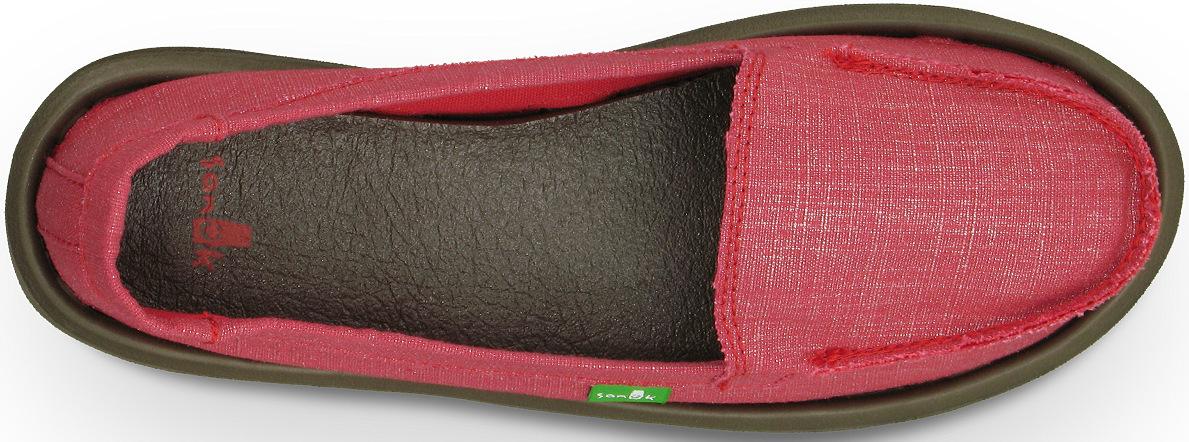 *天呀!瑜珈墊在鞋裡面!:Sanuk金屬絲質OHM MY懶人鞋! 1