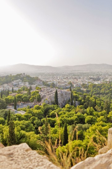 View from the Greek Acropolis.