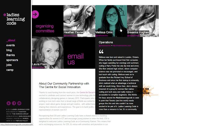 *用色簡單帶出精緻感的 Ladies |Ladies Learning Code Web Site 3