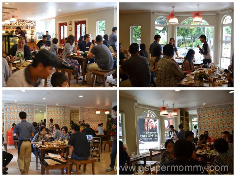 Dining at Harina Artisan Bakery and Cafe