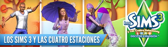 Los Sims 3 y las Cuatro Estaciones - Disco de Expansión