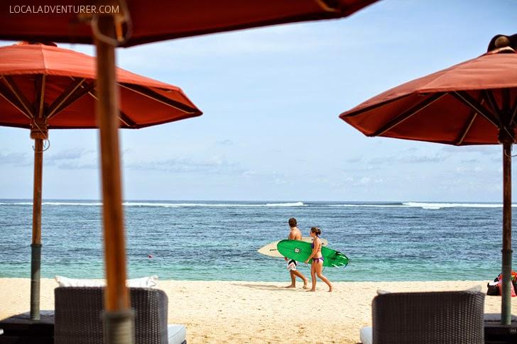 Nusa Dua Beach St Regis Hotel.