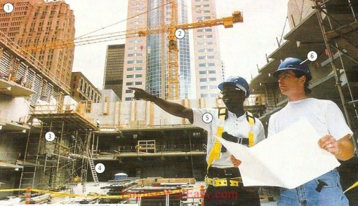 Contruction Site- Work/ occupations – Picture Dictionary