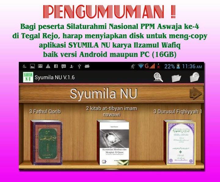 Aplikasi Syumila NU