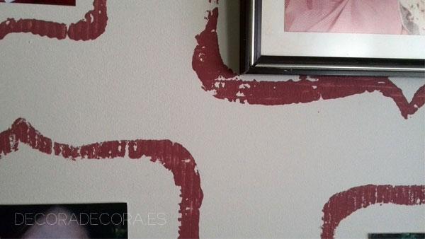 Decorar con pintura marsala