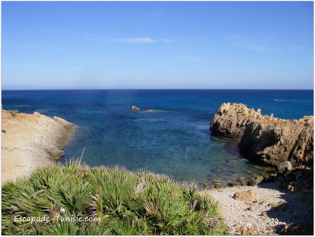 Tunisie El Haouaria crique
