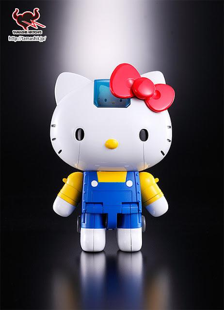 #無敵鐵金剛+凱蒂貓=?:登場吧! 超合金 Hello Kitty !! 1