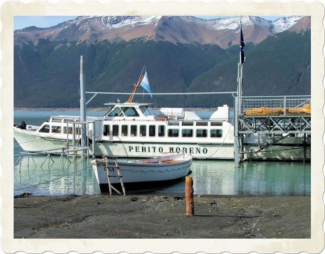 Perito Moreno Glacier,Patagonia Ferry
