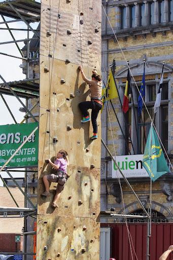 Sportmarkt Roeselare muurklimmen