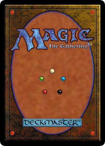 Verso de um card de Magic: the Gathering