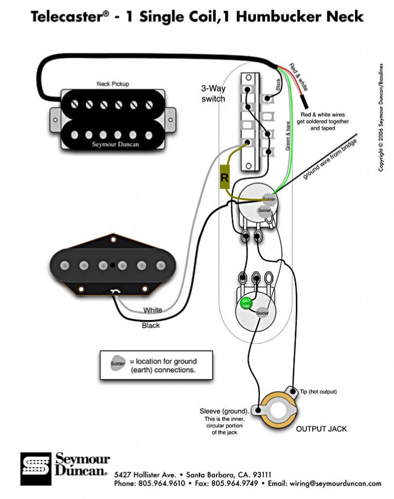 Electric Guitar Wiring Diagram One Pickup Wiring Diagrams Tele Bridge Load Electric Guitar Wiring Diagram One