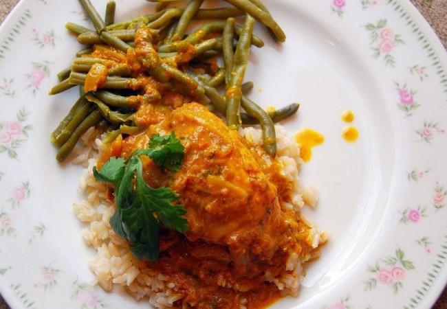 Trinidadian Chicken Curry