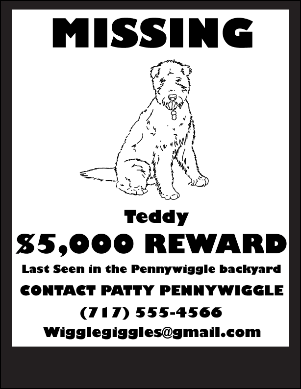 Doc14031984 Lost Dog Poster Template Missing Dog Poster 64 – Found Dog Poster Template