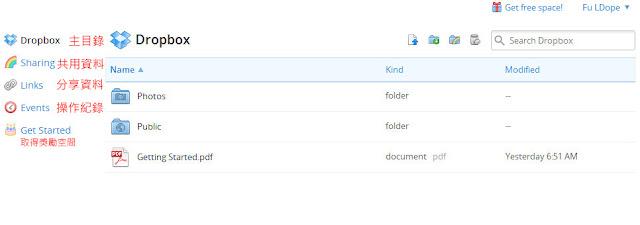 *免費加大空間、如何分享及共用資料:Dropbox 雲端使用教學(二) 3