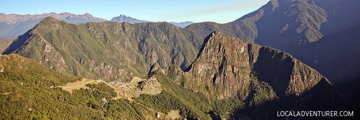 Intipunku Sun Gate Machu Picchu.