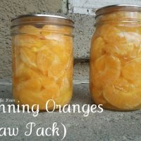 Canning Citrus (Raw Pack)