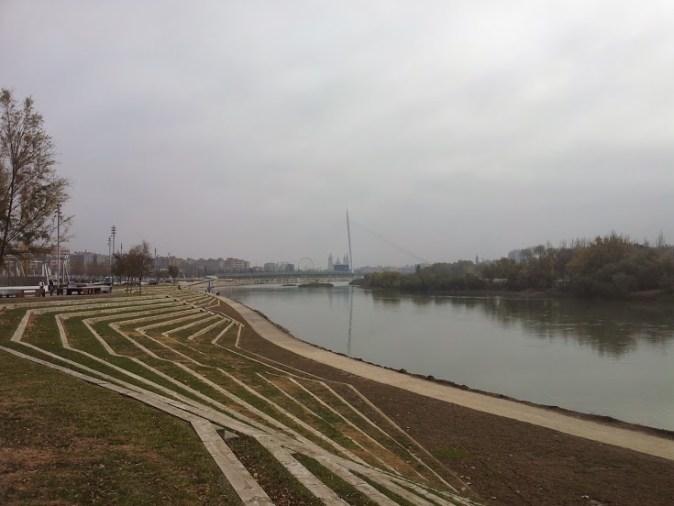 Rio Ebro - Pilar - Zaragoza