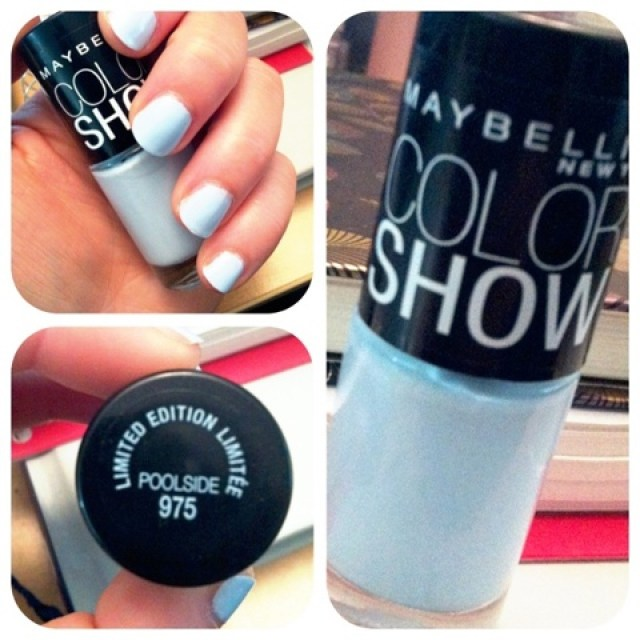 Maybelline Color Show Limited Edition Nail Polish Poolside