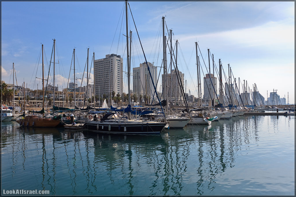 Тель Авивский яхт-клуб | Tel Aviv marina | מרינה תל אביב