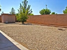 Big backyard in homes for sale in Gilbert AZ