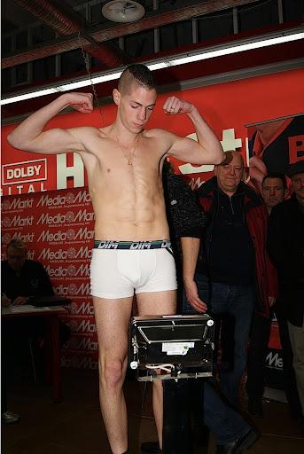 weging Cedric Spera boksen