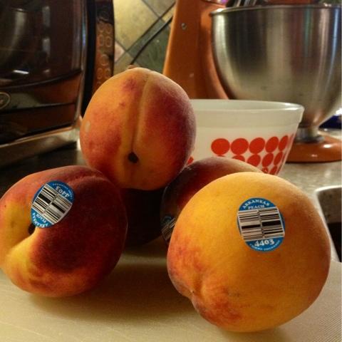 Arkansas peaches