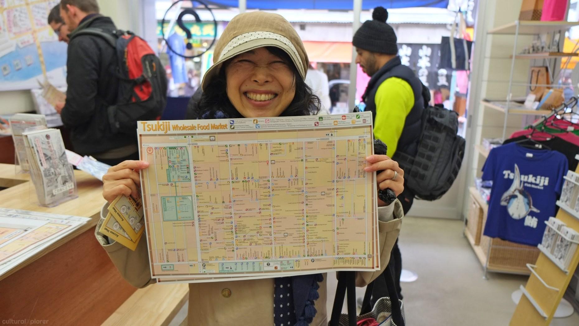 Yasuko Tsukiji Market Tokyo