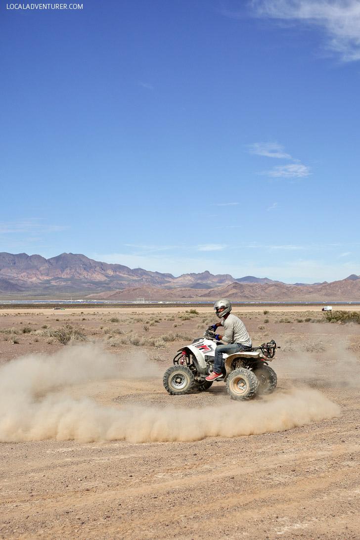 ATV Rides // Top 10 things to Do in Las Vegas.