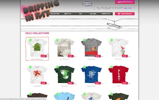 *宛如身歷其境的服飾購物網|Dripping In Fat Web Site 3