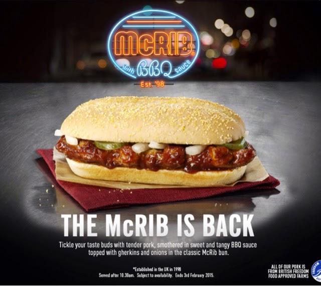 McDonald's Oriental McRib