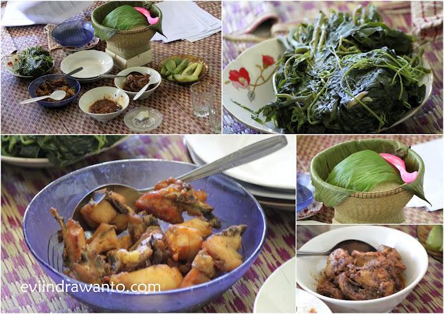 orang kampung lebih sehat karena makan makanan alami