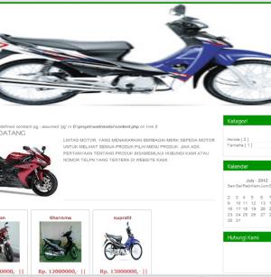 Sistem Informasi Penjualan Motor