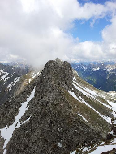 Bild vom Nebelhorn auf den Hindelanger Klettersteig