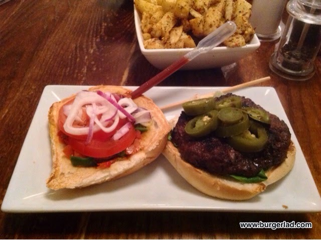 handmade burger Co. Chilli Extreme Infusion