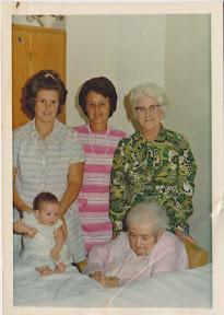 Five generations of my family's womenfolk